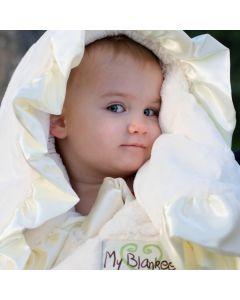 Luve Ruffle Baby Blanket