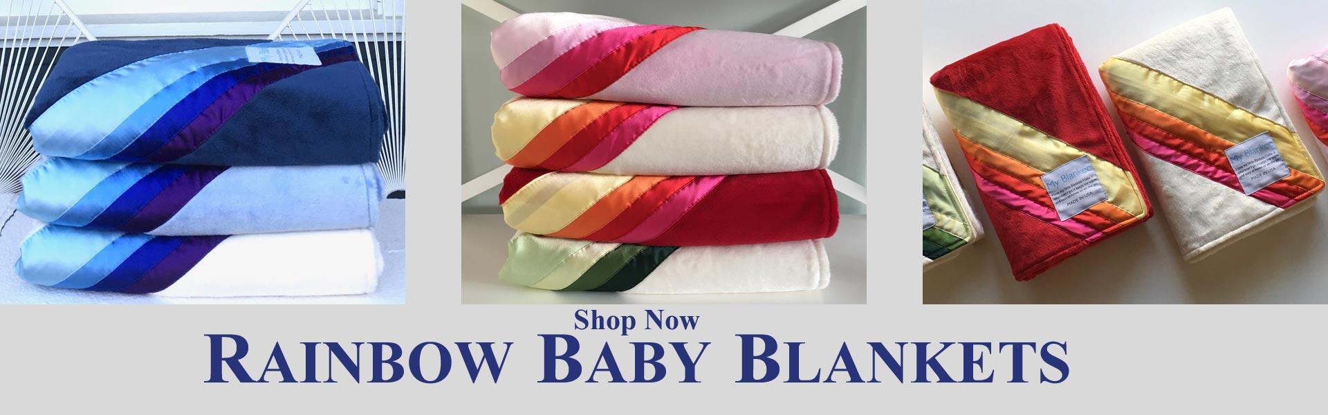 Rainbow Baby Blankets