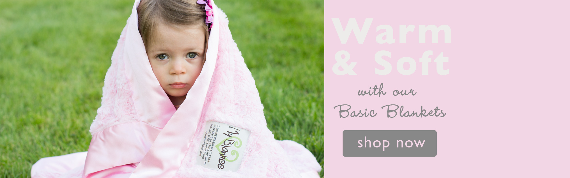Warm and Soft with our Basic Blankets